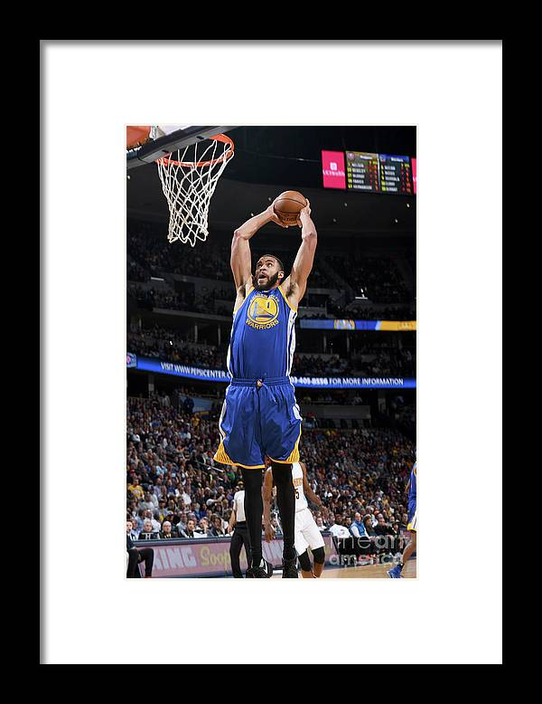 Nba Pro Basketball Framed Print featuring the photograph Javale Mcgee by Garrett Ellwood