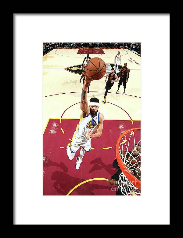 Playoffs Framed Print featuring the photograph Javale Mcgee by Nathaniel S. Butler