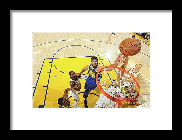 Nba Pro Basketball Framed Print featuring the photograph Javale Mcgee by Noah Graham
