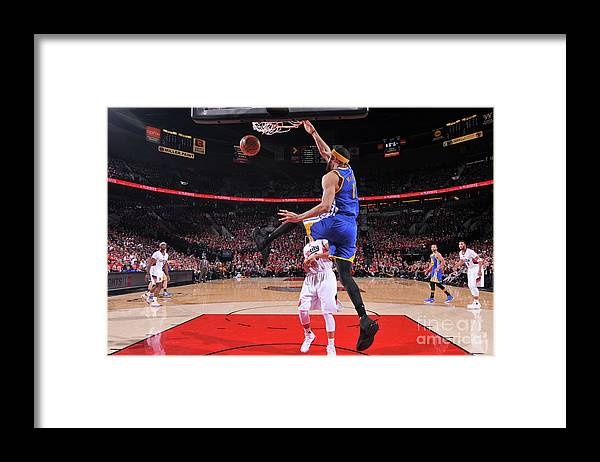 Playoffs Framed Print featuring the photograph Javale Mcgee by Sam Forencich