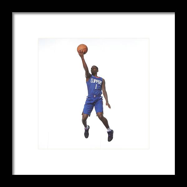 Nba Pro Basketball Framed Print featuring the photograph Jawun Evans by Nathaniel S. Butler