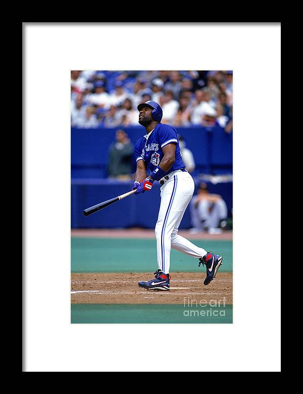 American League Baseball Framed Print featuring the photograph Jay Rogers by Ron Vesely