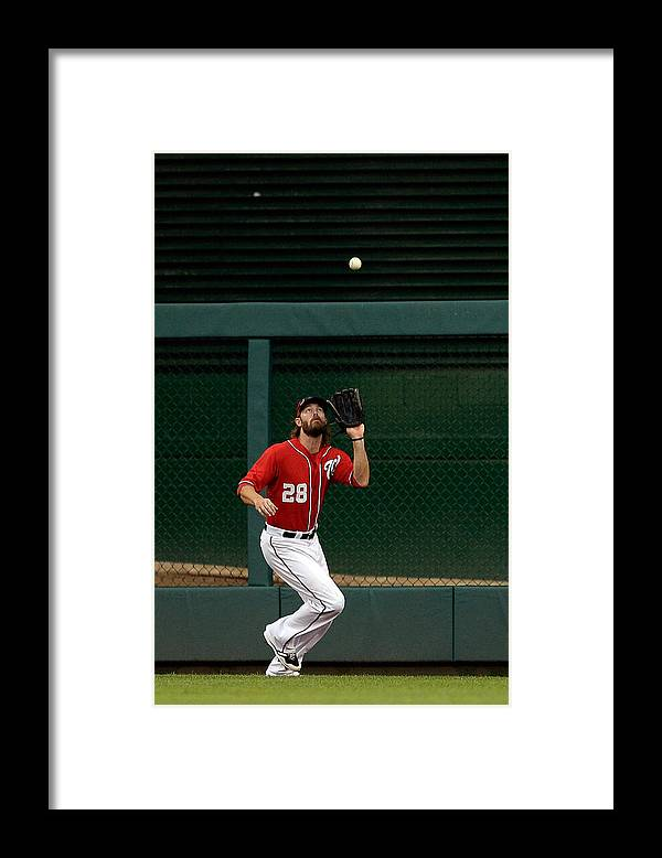 Ninth Inning Framed Print featuring the photograph Jayson Werth and David Wright by Patrick Mcdermott