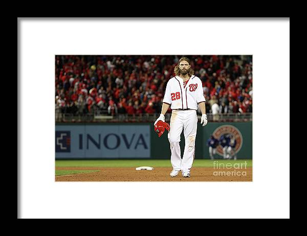People Framed Print featuring the photograph Jayson Werth by Patrick Smith