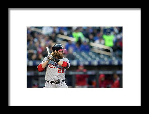 American League Baseball Framed Print featuring the photograph Jayson Werth by Taylor Baucom
