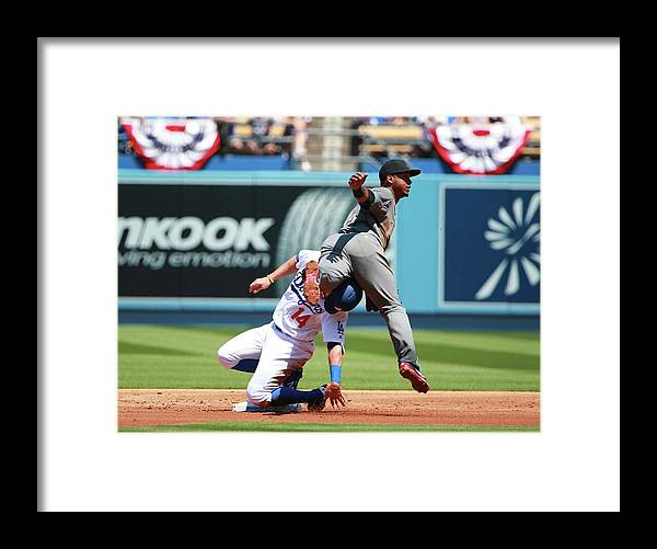 People Framed Print featuring the photograph Jean Segura by Victor Decolongon
