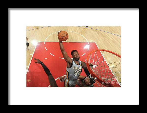 Nba Pro Basketball Framed Print featuring the photograph Jeff Green by Andrew D. Bernstein