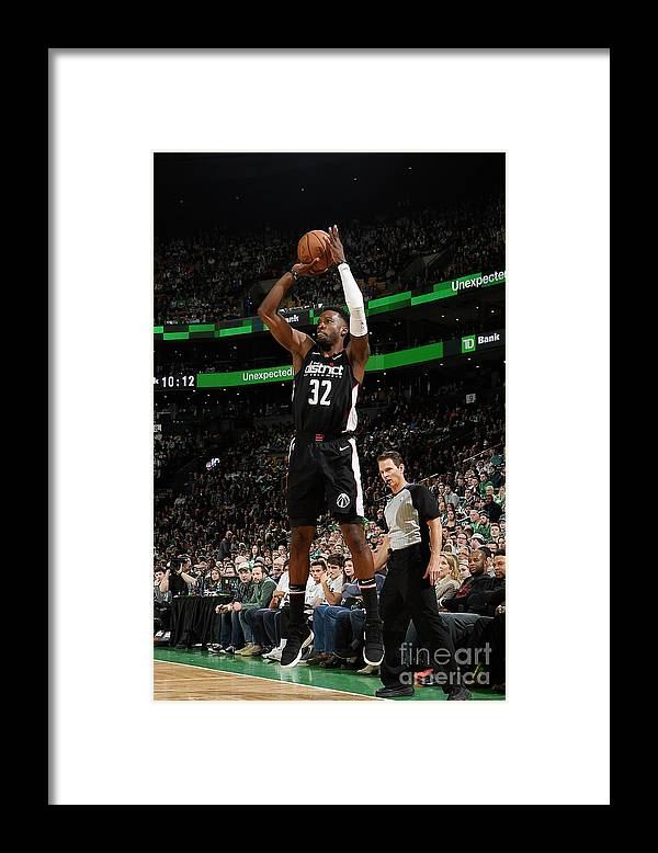 Nba Pro Basketball Framed Print featuring the photograph Jeff Green by Brian Babineau