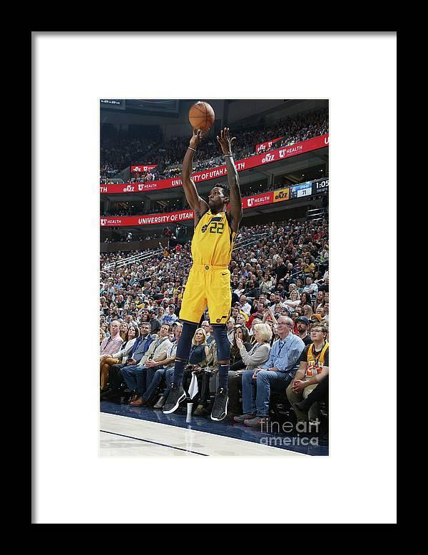 Nba Pro Basketball Framed Print featuring the photograph Jeff Green by Melissa Majchrzak