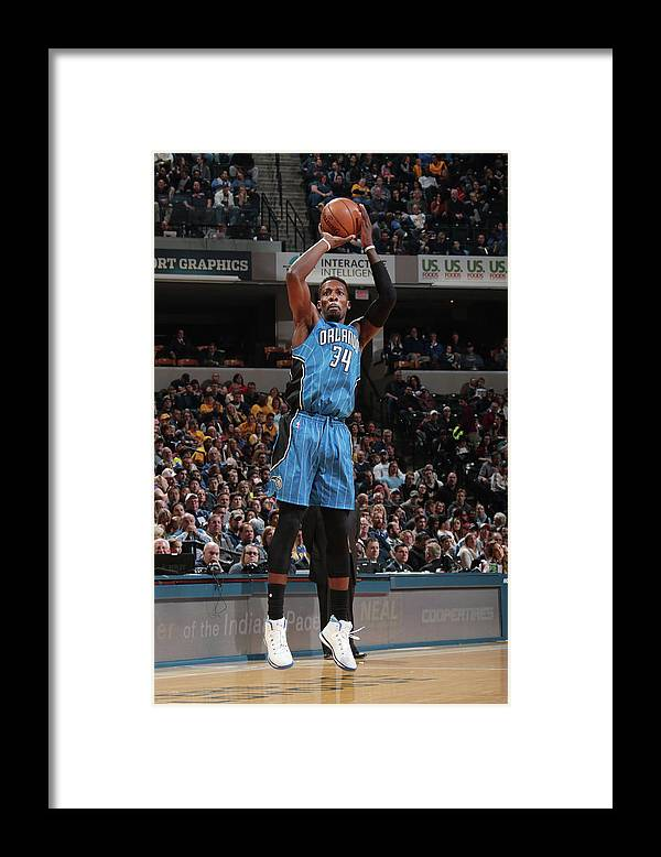 Nba Pro Basketball Framed Print featuring the photograph Jeff Green by Ron Hoskins