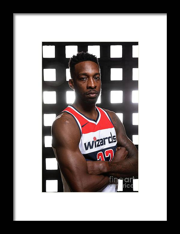 Media Day Framed Print featuring the photograph Jeff Green by Stephen Gosling