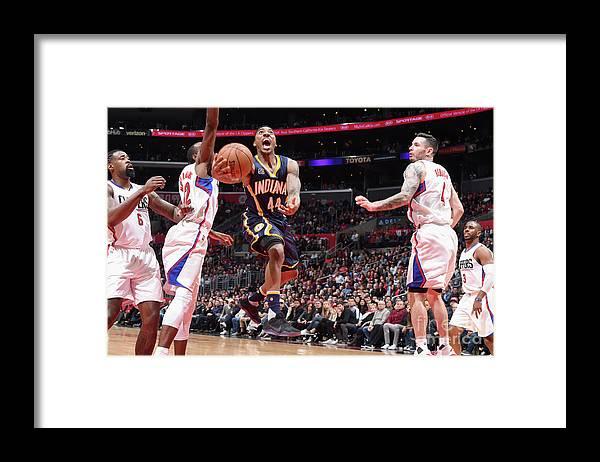 Nba Pro Basketball Framed Print featuring the photograph Jeff Teague by Andrew D. Bernstein