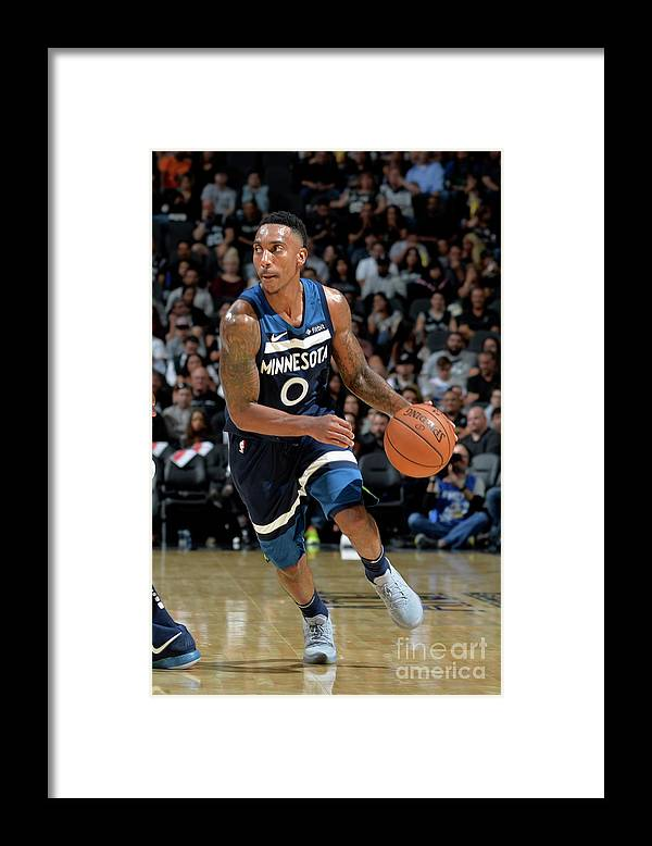 Nba Pro Basketball Framed Print featuring the photograph Jeff Teague by Mark Sobhani