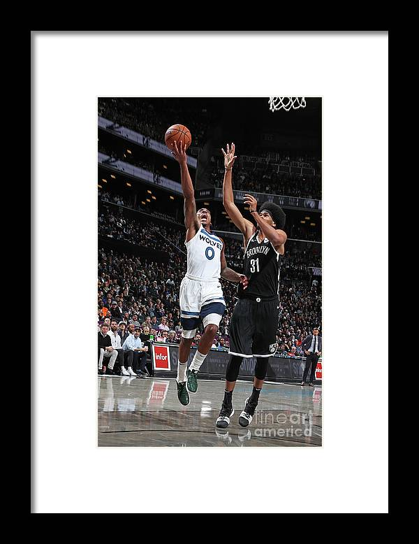 Nba Pro Basketball Framed Print featuring the photograph Jeff Teague by Nathaniel S. Butler