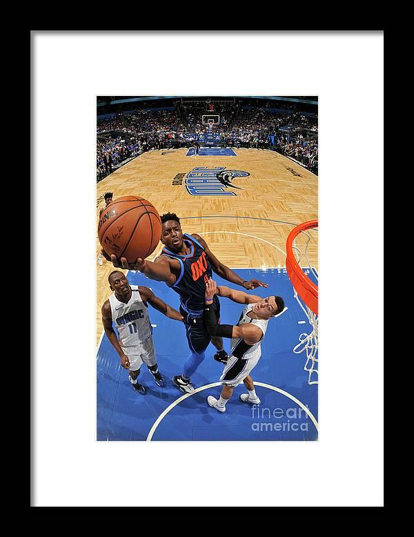 Nba Pro Basketball Framed Print featuring the photograph Jerami Grant by Fernando Medina