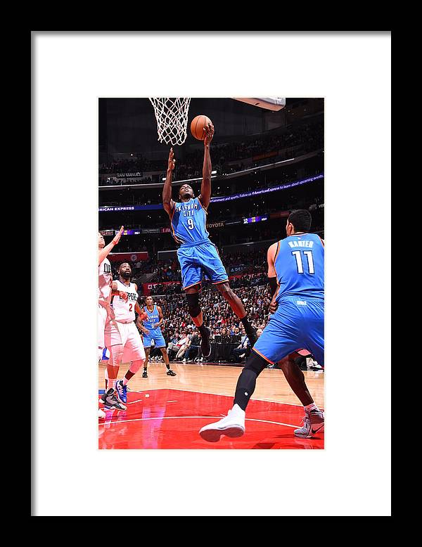 Nba Pro Basketball Framed Print featuring the photograph Jerami Grant by Juan Ocampo