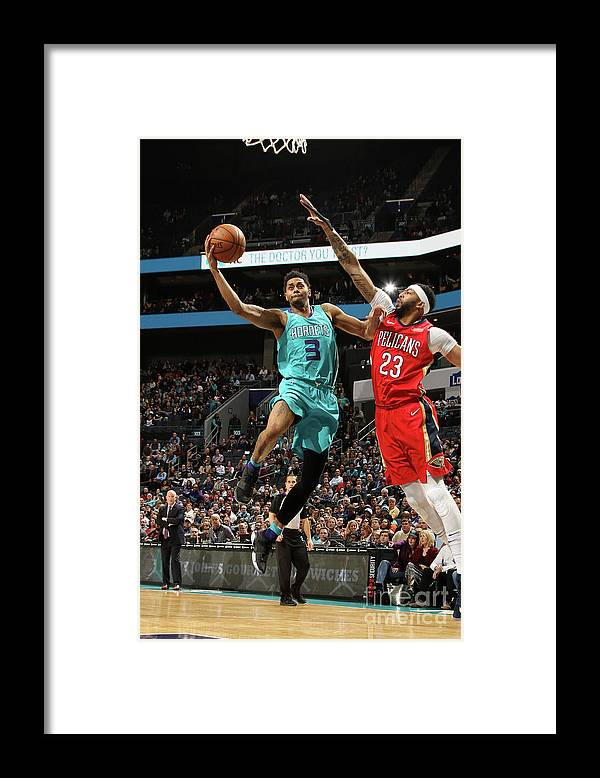 Nba Pro Basketball Framed Print featuring the photograph Jeremy Lamb by Brock Williams-smith