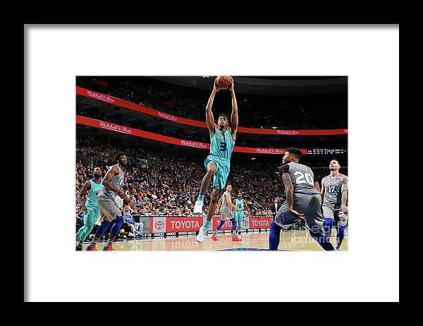 Nba Pro Basketball Framed Print featuring the photograph Jeremy Lamb by Jesse D. Garrabrant