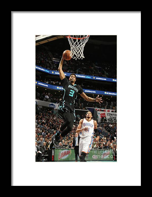 Nba Pro Basketball Framed Print featuring the photograph Jeremy Lamb by Kent Smith
