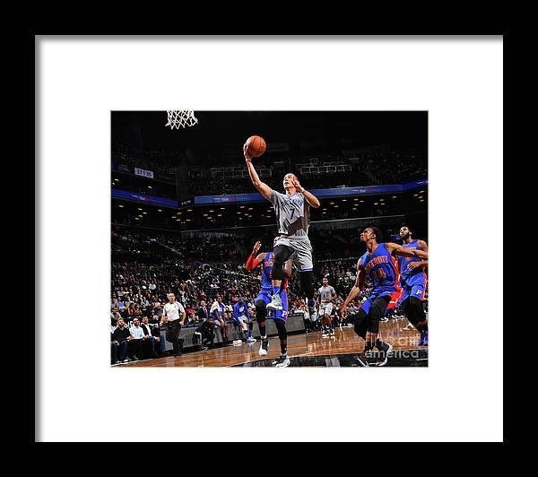 Nba Pro Basketball Framed Print featuring the photograph Jeremy Lin by Jesse D. Garrabrant