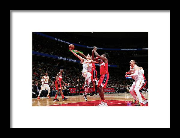 Nba Pro Basketball Framed Print featuring the photograph Jeremy Lin by Ned Dishman