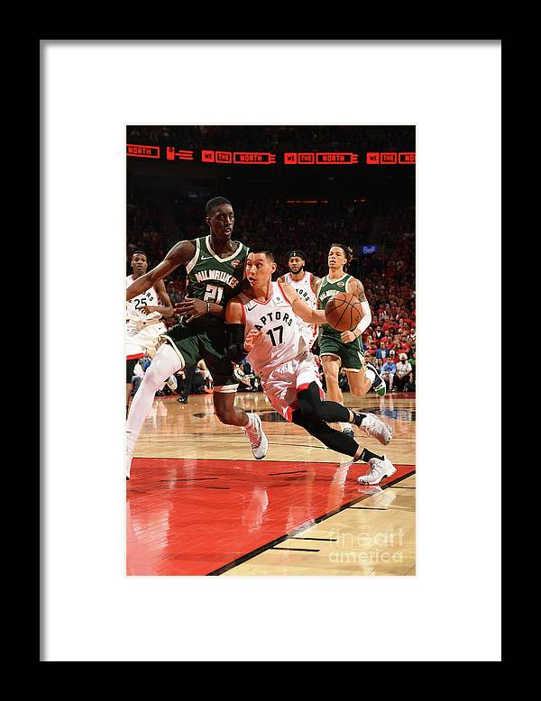 Nba Pro Basketball Framed Print featuring the photograph Jeremy Lin by Ron Turenne