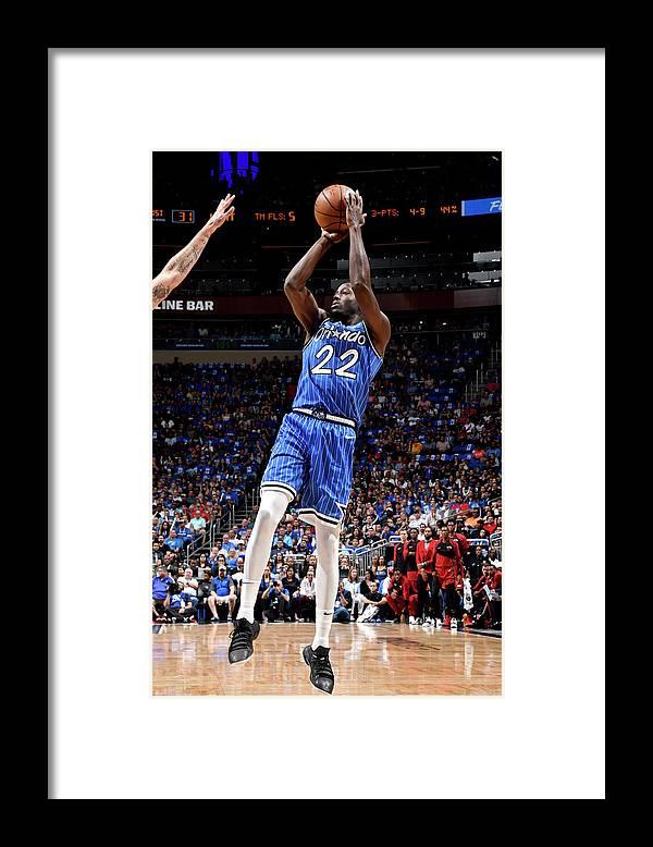Nba Pro Basketball Framed Print featuring the photograph Jerian Grant by Fernando Medina