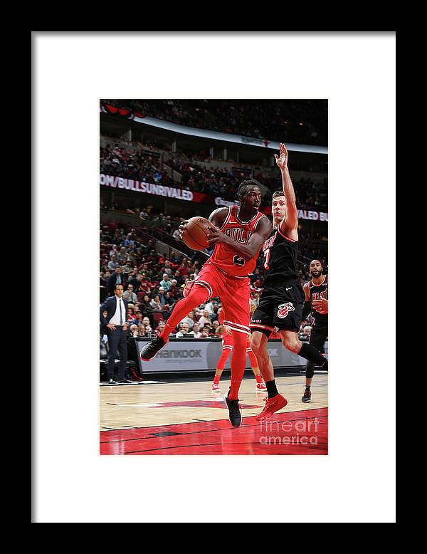 Nba Pro Basketball Framed Print featuring the photograph Jerian Grant by Gary Dineen