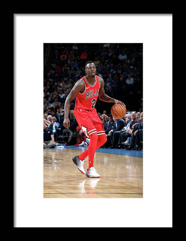 Nba Pro Basketball Framed Print featuring the photograph Jerian Grant by Layne Murdoch
