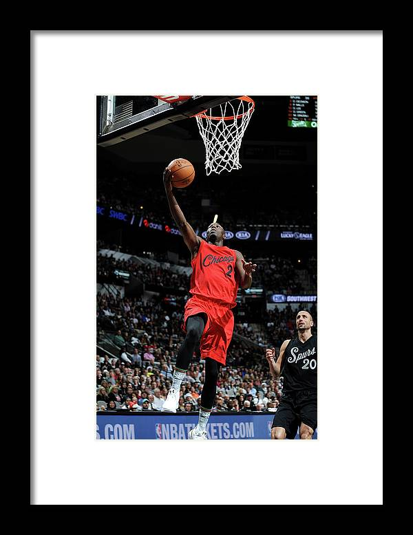 Nba Pro Basketball Framed Print featuring the photograph Jerian Grant by Mark Sobhani