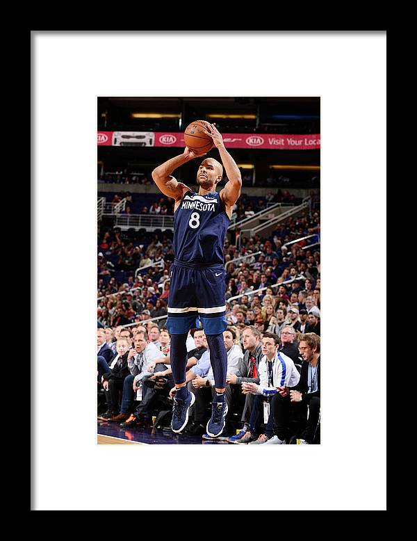 Nba Pro Basketball Framed Print featuring the photograph Jerryd Bayless by Barry Gossage