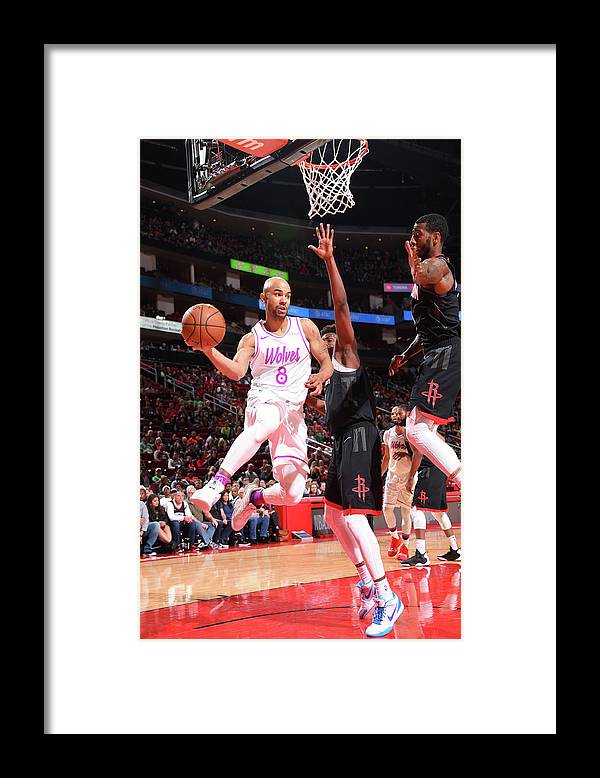 Nba Pro Basketball Framed Print featuring the photograph Jerryd Bayless by Bill Baptist