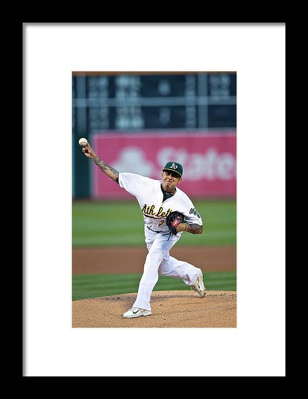 People Framed Print featuring the photograph Jesse Chavez by Jason O. Watson