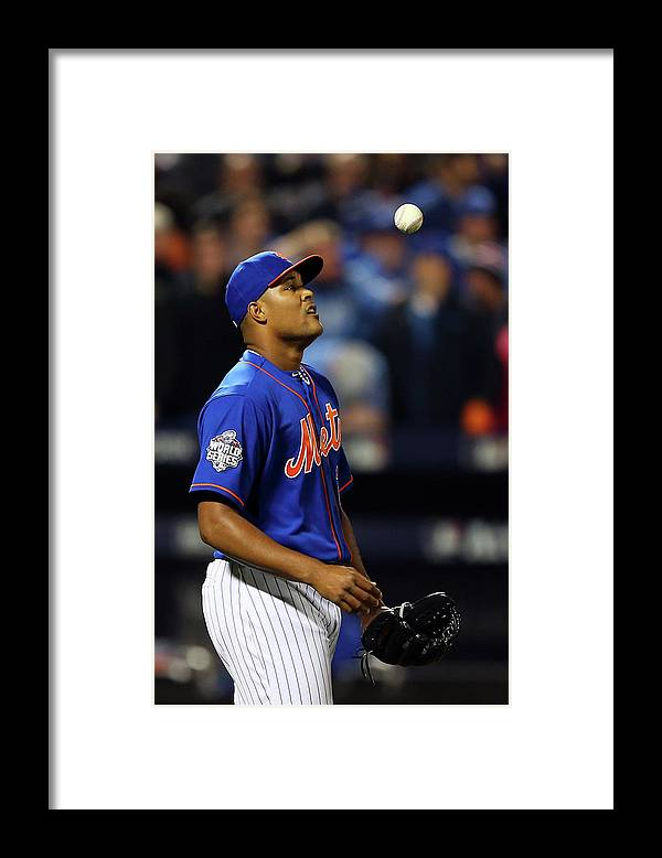 Three Quarter Length Framed Print featuring the photograph Jeurys Familia by Elsa