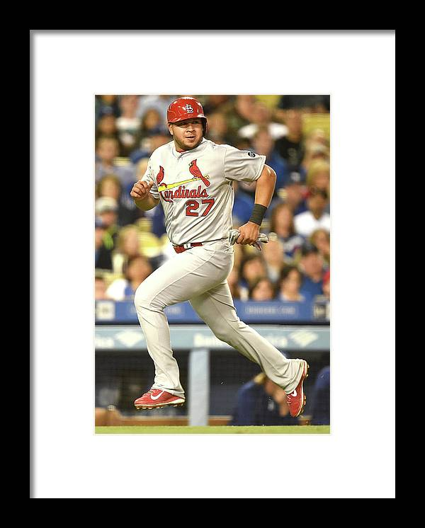 St. Louis Cardinals Framed Print featuring the photograph Jhonny Peralta and Jason Heyward by Harry How