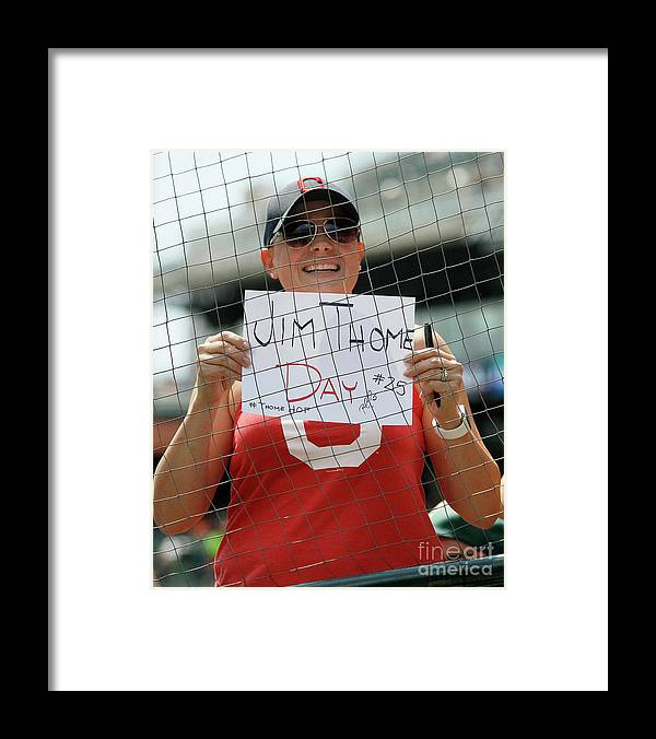 People Framed Print featuring the photograph Jim Thome by Duane Burleson