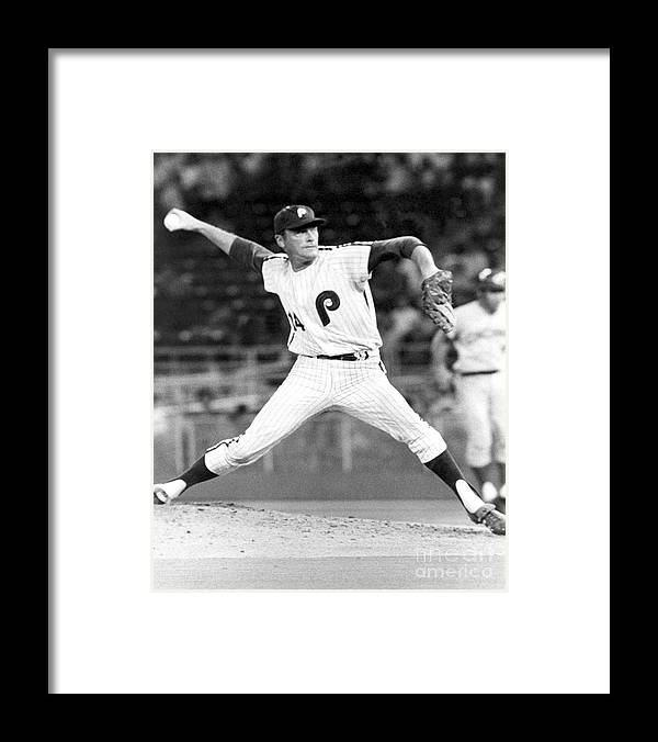 People Framed Print featuring the photograph Jim York by National Baseball Hall Of Fame Library