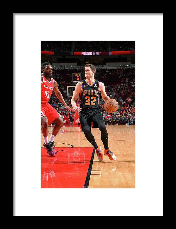 Nba Pro Basketball Framed Print featuring the photograph Jimmer Fredette by Bill Baptist