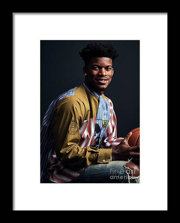 Event Framed Print featuring the photograph Jimmy Butler by Jennifer Pottheiser