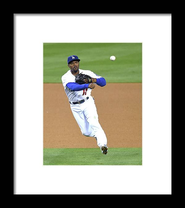 People Framed Print featuring the photograph Jimmy Rollins by Harry How