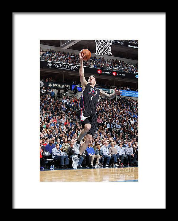 Nba Pro Basketball Framed Print featuring the photograph J.j. Redick by Danny Bollinger