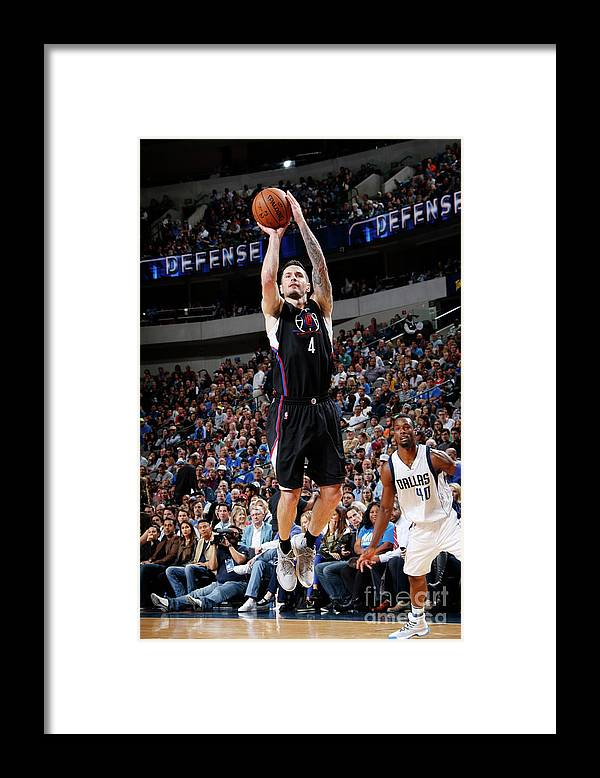 Nba Pro Basketball Framed Print featuring the photograph J.j. Redick by Glenn James