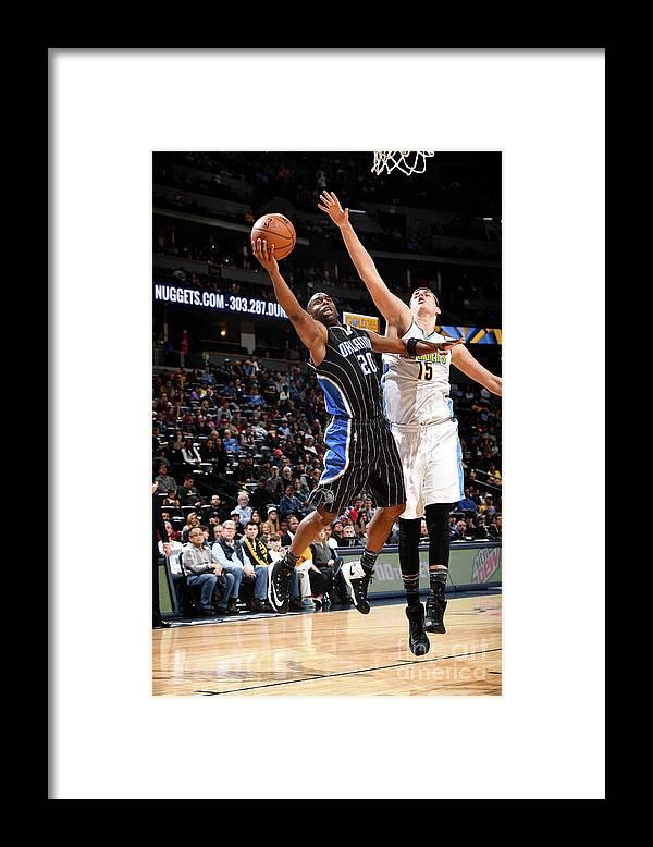 Jodie Meeks Framed Print featuring the photograph Jodie Meeks by Garrett Ellwood