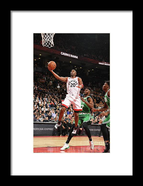 Jodie Meeks Framed Print featuring the photograph Jodie Meeks by Ron Turenne