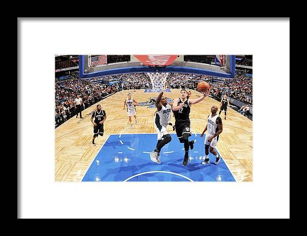 Nba Pro Basketball Framed Print featuring the photograph Joe Harris by Fernando Medina