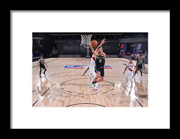 Nba Pro Basketball Framed Print featuring the photograph Joe Harris by Jesse D. Garrabrant