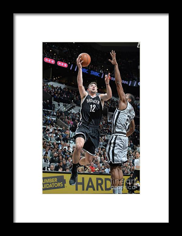 Nba Pro Basketball Framed Print featuring the photograph Joe Harris by Mark Sobhani