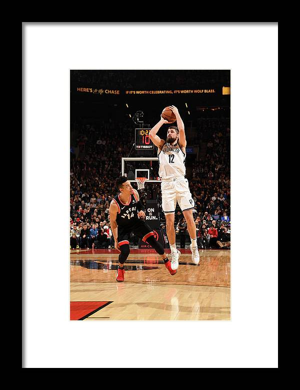 Nba Pro Basketball Framed Print featuring the photograph Joe Harris by Ron Turenne