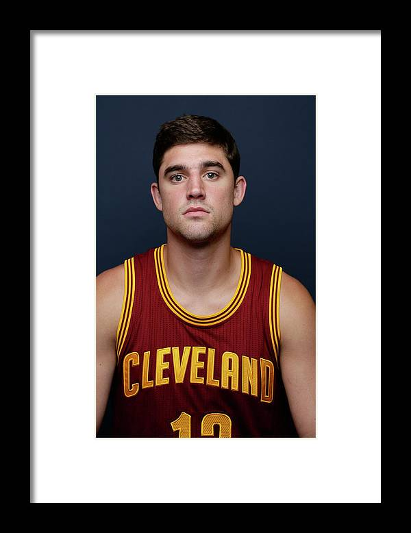 Nba Pro Basketball Framed Print featuring the photograph Joe Harris by Steve Freeman