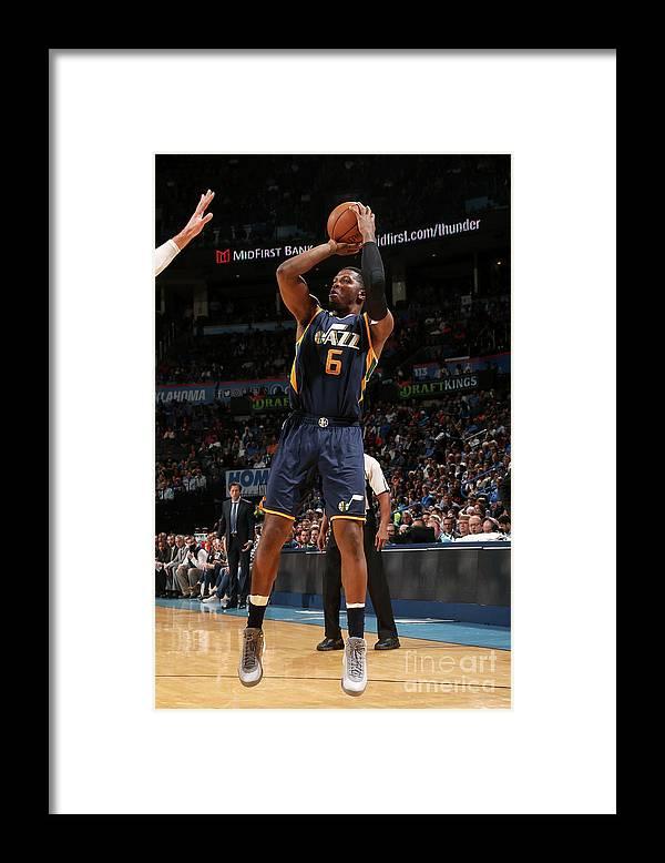 Nba Pro Basketball Framed Print featuring the photograph Joe Johnson by Layne Murdoch